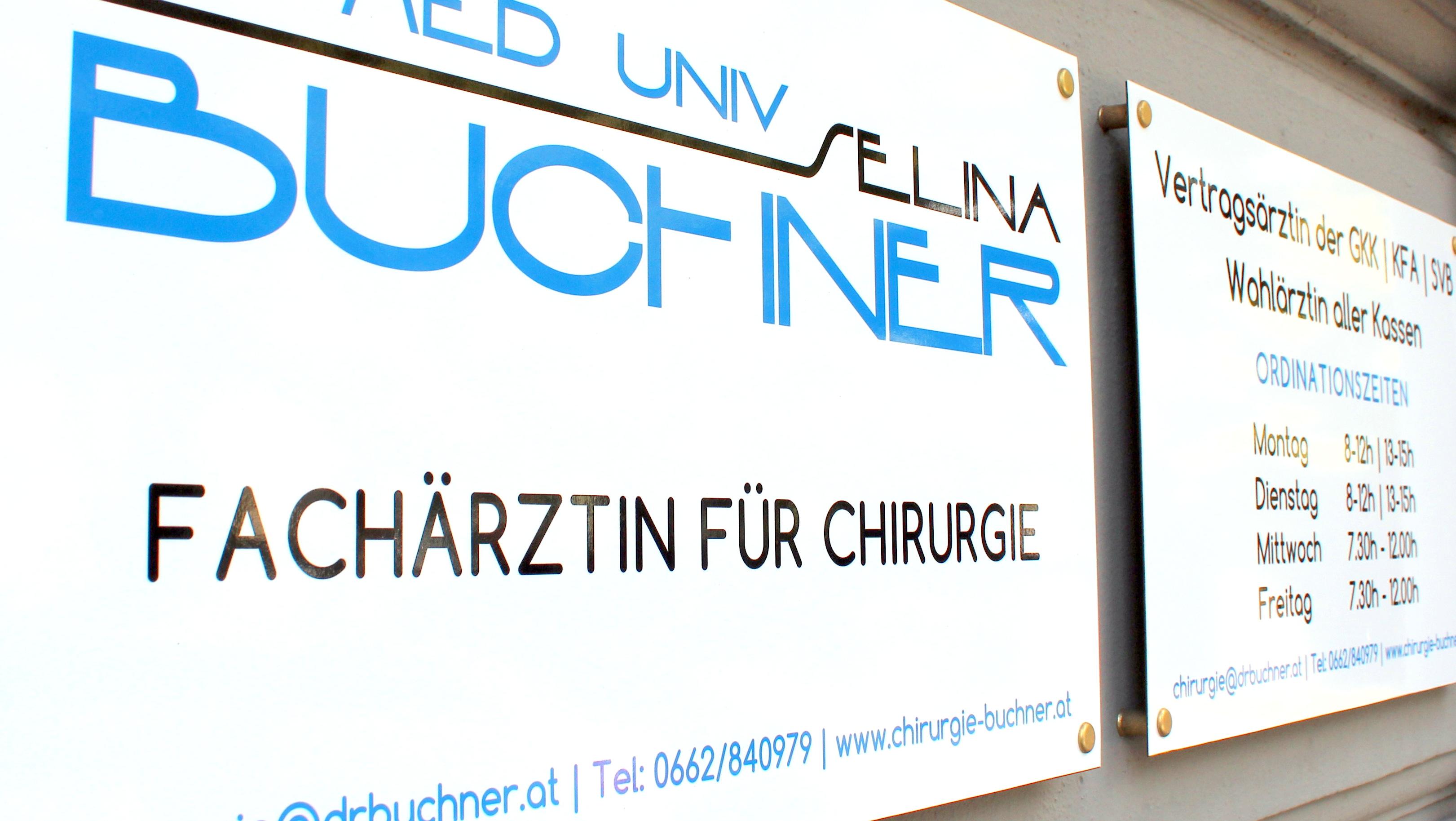Kontakt Dr. Selina Buchner