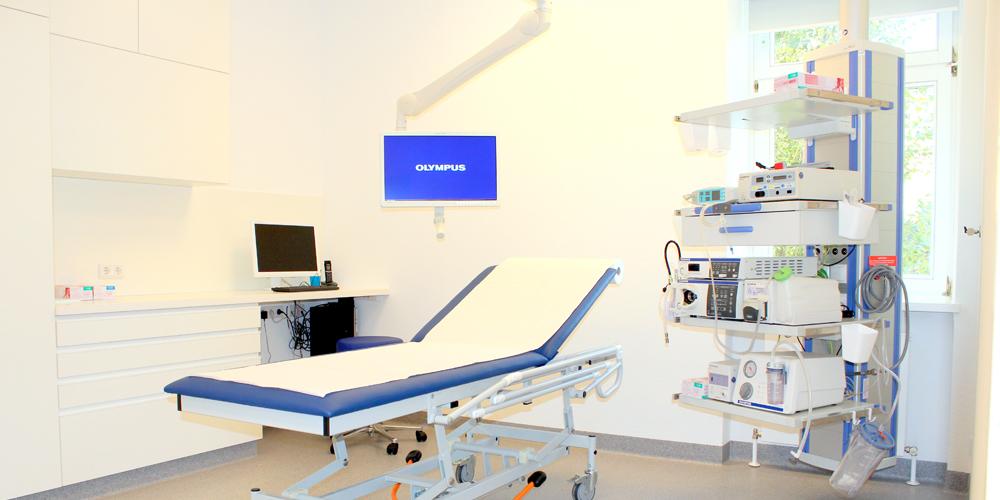 Endoskopieraum Dr. Selina Buchner